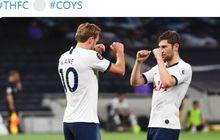 Hasil Liga Inggris - Gol Bunuh Diri Bek Everton Buat Tottenham Hotspur Raih Poin Penuh
