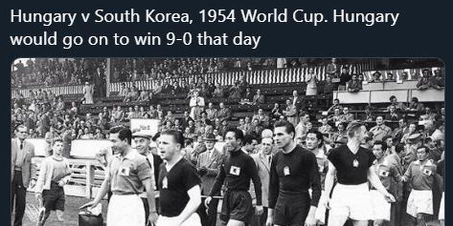 DUEL KLASIK - Rekor Kemenangan 9-0 Hungaria atas Korsel di Piala Dunia 1954