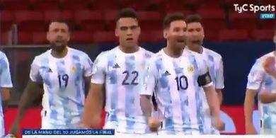 Layaknya Prajurit di Medan Perang, Highlight Penampilan Messi Vs Kolombia Mendadak Viral