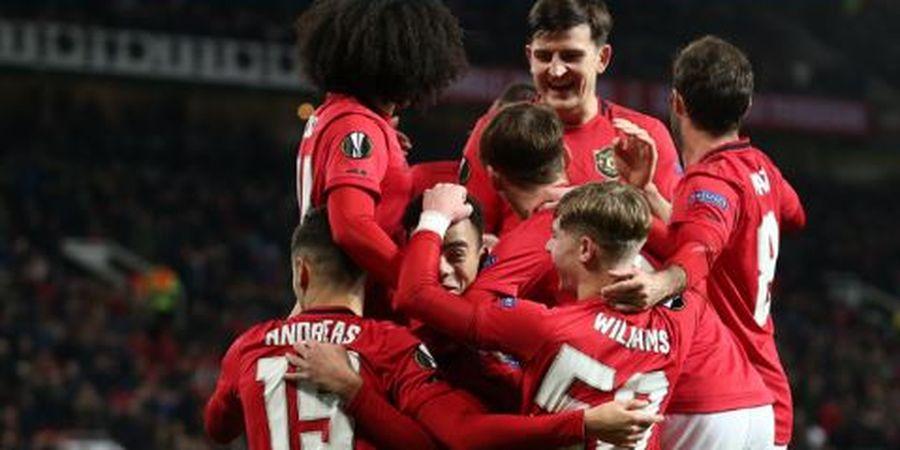 Hasil Lengkap Liga Europa - Rekor Pemain Termuda Man United Bisa Cetak 2 Gol Pecah