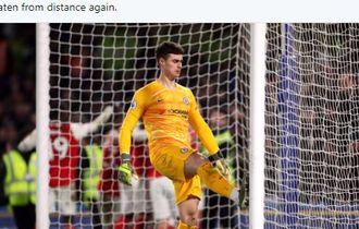 Hasil dan Klasemen Liga Inggris - Man City Kejar Liverpool, Kiper Chelsea Apes