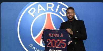 Resmi Perbarui Kontrak dengan PSG, Neymar Ungkap Harapan di Masa Depan