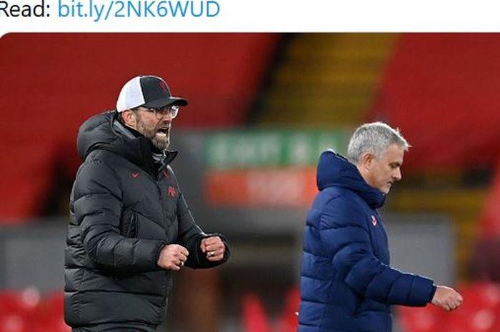 Juergen Klopp menyebut kalau Liverpool yang sesungguhnya telah kembali usai menang atas Tottenham Hotspur dan kembali ke 4 besar.