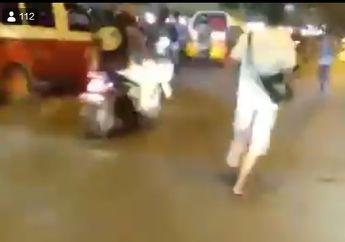 Breaking News, Video Geng Motor Bersenjata  Clurit Kejar Korban