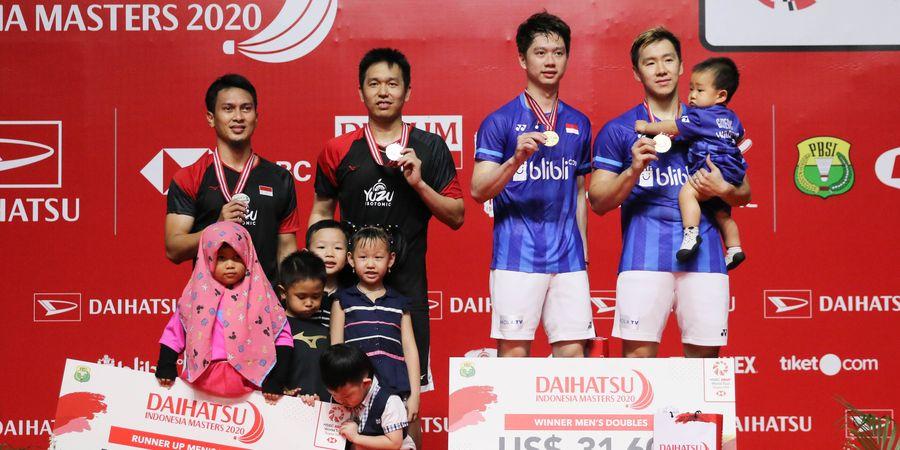 Olimpiade Tokyo 2020 - Undian Ganda Putra Keluar, All Indonesian Final Trending di Twitter