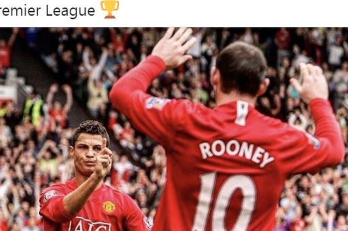 Manchester United melakukan eksekusi corner kick nyeleneh dalam laga Liga Inggris kontra Chelsea pada 2009, di mana Wayne Rooney cuma mencolek bola berujung gol Cristiano Ronaldo.