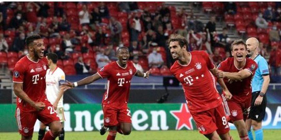 Hasil Piala Super Eropa - Pencetak Gol Spesialis Menit 100 Beraksi, Bayern Juara