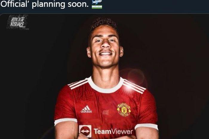 Raphael Varane sepakat pindah dari Real Madrid ke Manchester United pada bursa transfer musim panas 2021.