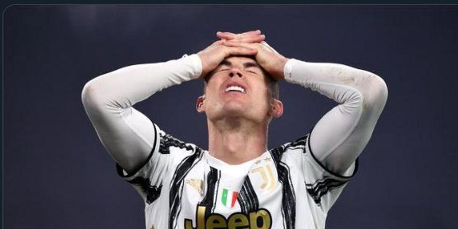 Rekor Tendangan Bebas Cristiano Ronaldo di Juventus Payah, Ini Penyebabnya