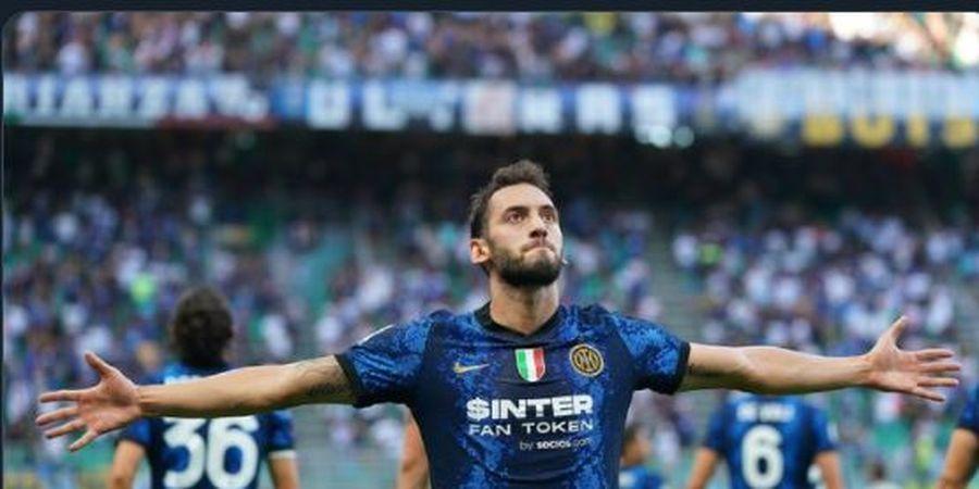 Cetak Gol dan Asis untuk Inter Milan, Hakan Calhanoglu Disebut Tak Sadar dengan Kehebatannya