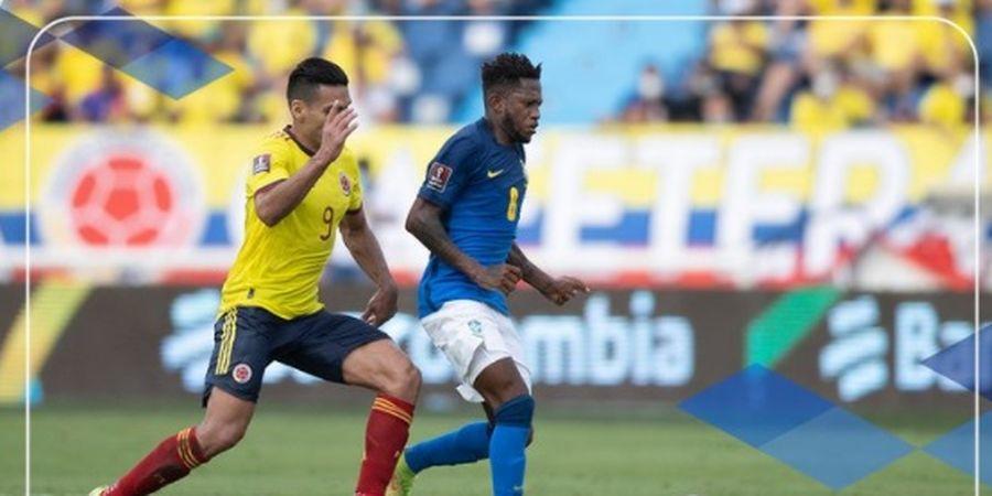 Hasil Kualifikasi Piala Dunia 2022 - Kolombia Hentikan Kemenangan Beruntun Brasil