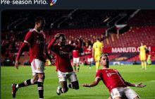 Dibuang Man United, Andreas Pereira Kesurupan Andrea Pirlo, Cetak Gol Rudal Sejauh 23 Meter