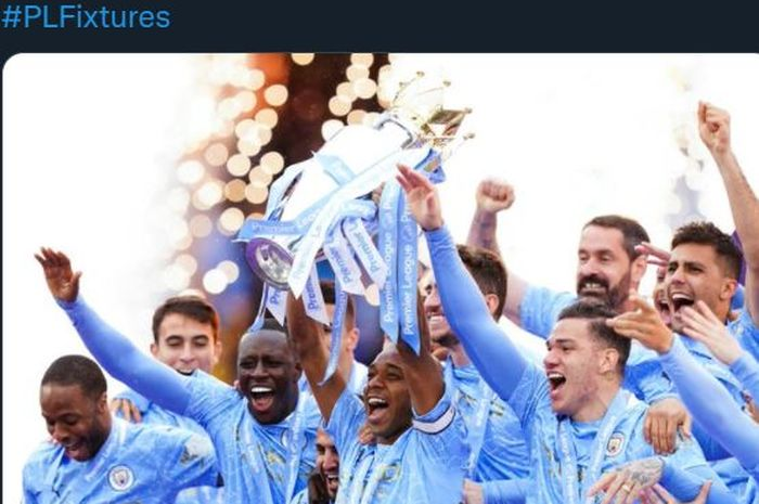 Manchester City mengawali misi mempertahankan gelar di Liga Inggris 2021-2022 dengan bertamu ke Tottenham Hotspur, 14 Agustus 2021.