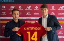 Eldor Shomurodov, Lawan Evan Dimas di Piala Asia Jadi Anak Buah Jose Mourinho di AS Roma