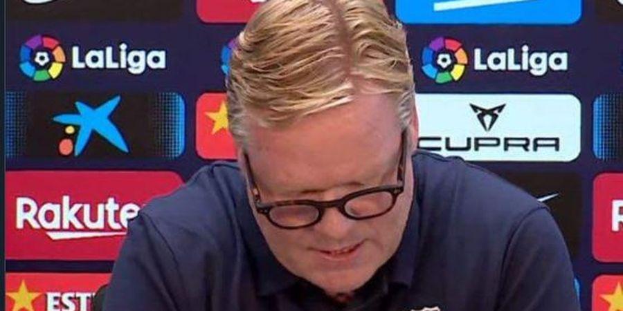 Ronald Koeman Tak Jawab Pertanyaan Wartawan di Jumpa Pers Barcelona, Lalu Ngeloyor Pergi