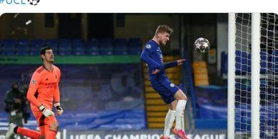 Timo Werner Bawa Chelsea ungguli Real Madrid di Babak Pertama