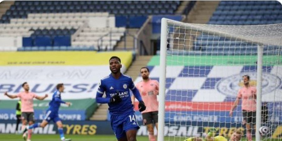 Dibuang Guardiola, Iheanacho Pemain Tertajam Liga Inggris, Leicester Pepet Man City