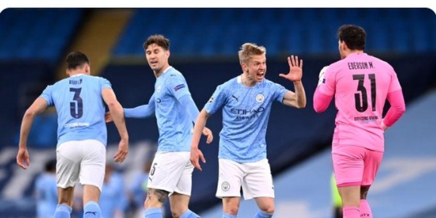 Tumbangkan PSG, Manchester City Pecahkan Rekor Milik Man United