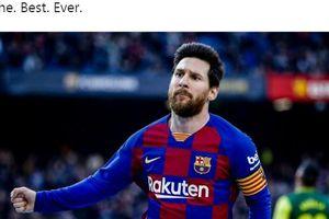 Detik-detik Gol Ajaib Messi ke Gawang Eibar