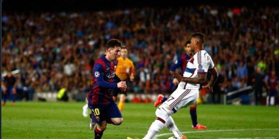 Lionel Messi dan Jerome Boateng Reuni di Liga Prancis, Ingat Memori Gocekan Lawak dan Pembantaian 8-2