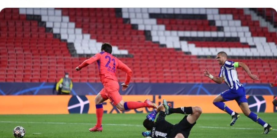 Hasil Liga Champions - Duo Pemain Inggris Chelsea Cetak Gol, Porto Gigit Jari