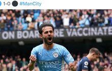 Bernardo Silva Bawa Manchester City Unggul atas Burnley di Babak Pertama
