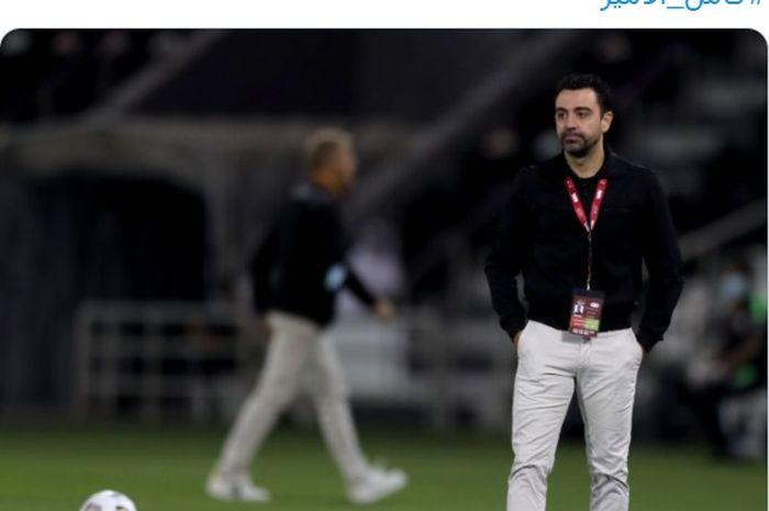 Pelatih Al-Sadd SC, Xavi Hernandez.
