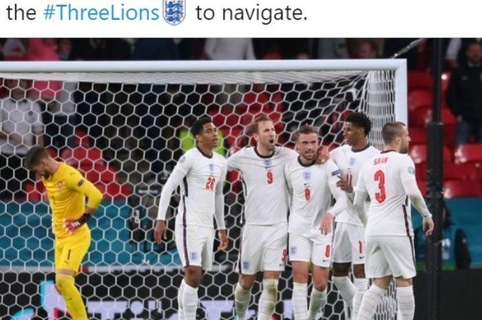 Timnas Inggris berhasil mengkudeta Republik Ceska, sementara Kroasia bangkit di laga akhir Grup D EURO.
