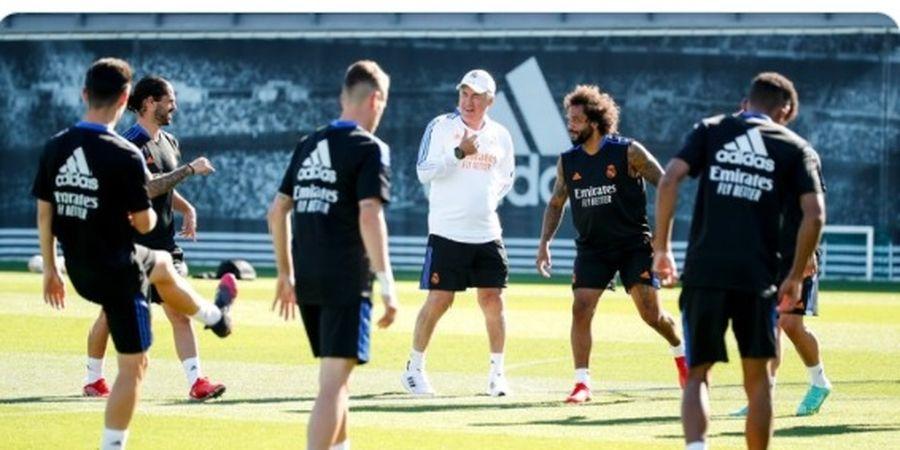 Gelar Latihan Perdana, Carlo Ancelotti Puji Komitmen Pemain Berpengalaman Real Madrid