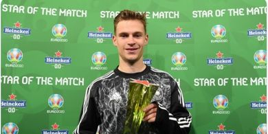 Man of the Match EURO 2020 - Semangat Juang Joshua Kimmich Selamatkan Jerman