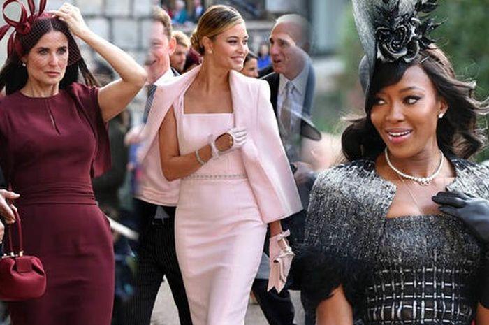 Menawan! Deretan Selebriti Ini Hadir di Pernikahan Princess Eugenie
