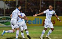 Beckham Putra Unjuk Gigi, Persib Tahan Imbang Perseru Badak Lampung FC