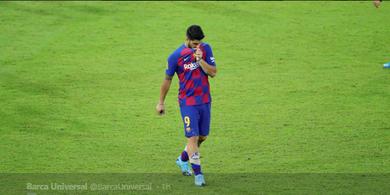 Luis Suarez Geram Barcelona Minta Duit ke Atletico Madrid untuk Transfernya