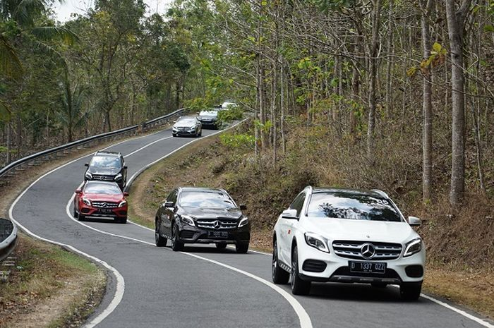 First Drive Mercedes-Benz GLA 200 AMG Line, Ini Yang Bikin Asyik