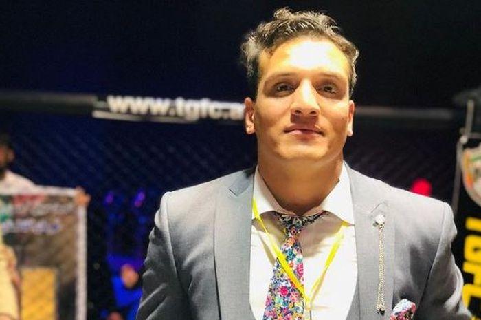 Abdul Wasi Sharifi, presiden ajang tarung mix martial arts atau MMA di Afghanistan yang meminta tolong kepada komunitas tarung termasuk UFC.