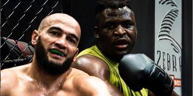 Latihan Bareng Francis Ngannou, Jagoan UFC Campuran Khabib-Khamzat Chimaev sampai Cedera