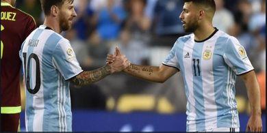 Sergio Aguero Hilangkan Nomor 10, Lionel Messi Kian Mendekat ke Manchester City?