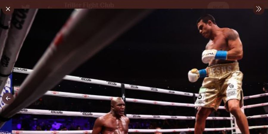 Kalah Menyedihkan, Evander Holyfield Tak Kehilangan Hasrat Sikat Mike Tyson