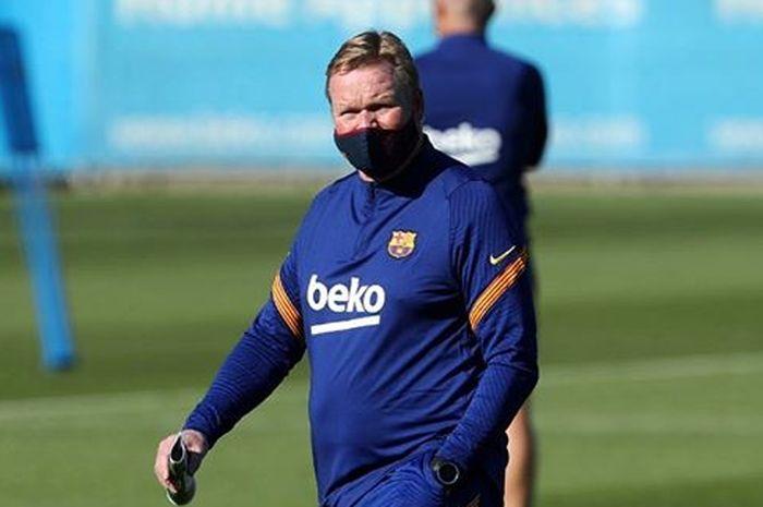 Pelatih baru Barcelona, Ronald Koeman.