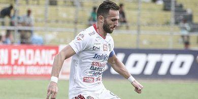 Ilija Spasojevic Keluhkan Wasit di Laga Bali United Versus Svay Rieng