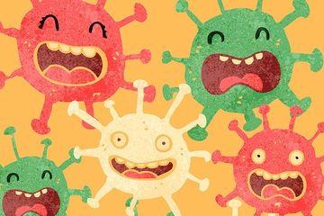 Apa Itu Virus Inilah Pengertian Dan Perbedaannya Dengan Bakteri Semua Halaman Kids