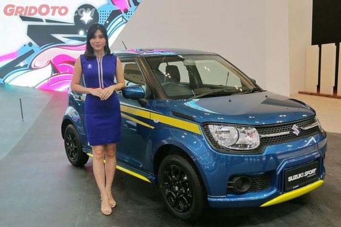 Suzuki Ignis sport concept tampil di GIIAS 2018 dengan ubahan minimalis namun jadi cukup garang juga
