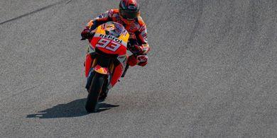 13 Detik yang Bikin Marc Marquez Luar Biasa pada MotoGP Portugal 2021