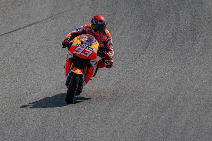 Pembalap MotoGP dari Repsol Honda, Marc Marquez.