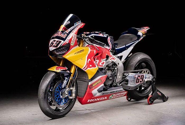 Honda CBR1000RR SP2 milik Nicky Hayden