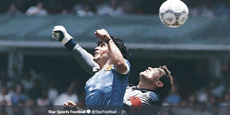 Tak Ada yang Bisa Beli Jersey Bersejarah Maradona Seharga Rp 28 Miliar