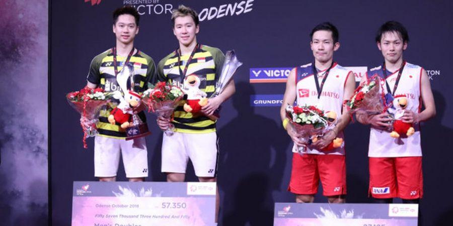 Rekor Pertemuan Marcus/Kevin Vs Kamura/Sonoda Jelang Final Fuzhou China Open 2019