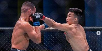 Ngilu Abis! Bahu Zombi Korea Sempat Lepas di Tengah Duel UFC Vegas 29