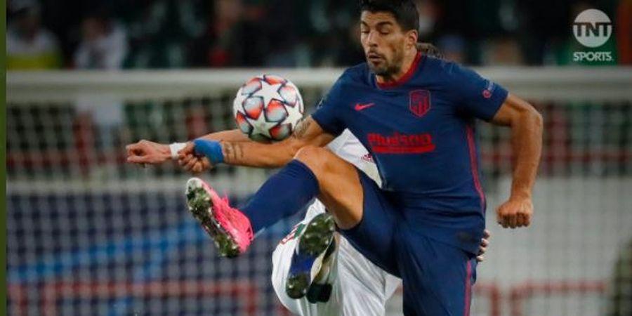 Luis Suarez Dapat Kartu Kuning di Liga Champions Karena Alasan Konyol