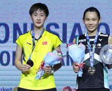 Hasil Olimpiade Tokyo 2020 - Menangi Duel Gila! Jawara China Bungkam Ratu Bulu Tangkis Dunia